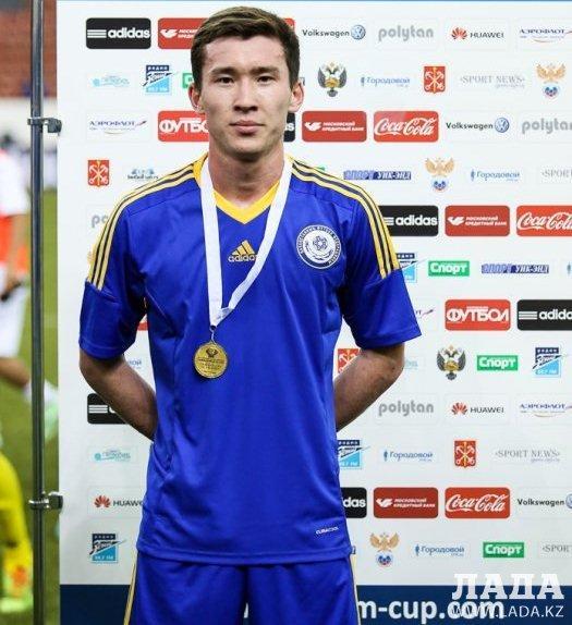 Футболист из Мангистау Мирас Тулиев заключил контракт с командой Премьер-лиги Казахстана