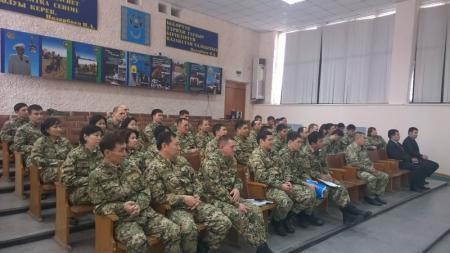 Департамент по делам госслужбы и противодействию коррупции провел просветительскую работу среди мангистауских военных