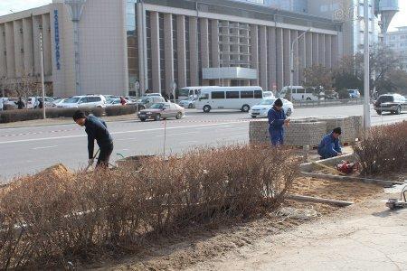 Едил Жанбыршин: В Актау продолжается расширение автодорог и парковочных зон