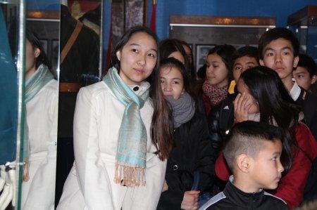 Актауские школьники посетили музей ДКНБ Мангистауской области
