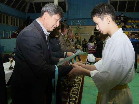 В Актау первенство по киокушинкай каратэ-до посвятили очередной дате вывода советских войск из Афганистана