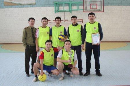В Актау прошел турнир по волейболу среди огнеборцев