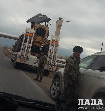 Военные не рассчитали - чуть трубы не пострадали