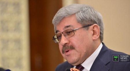 Гани Касымов предлагает выдвинуть на предстоящих выборах кандидатуру Назарбаева