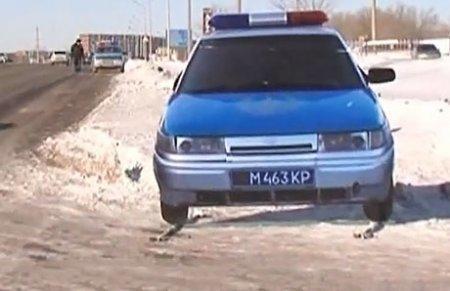 «Картонная» полиция появилась в Караганде