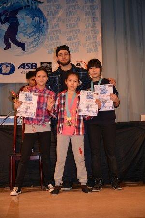 Соревнования по брейк-дансу «Зимний джем 2015» прошли в Актау