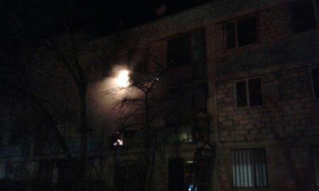 В 3 микрорайоне Актау загорелась квартира