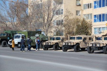 Копия боевого знамени 72-ой гвардейской стрелковой дивизии прибыла в Актау