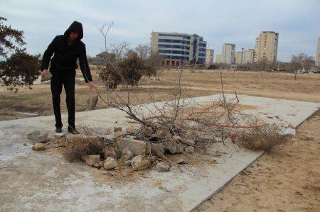 В городском парке  «Ак Бота» прошел  субботник