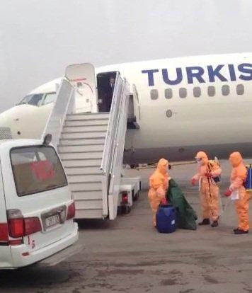 Пассажир рейса Алматы-Стамбул c подозрением на эболу является гражданином РФ