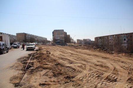 Возле медицинского центра «Нейрон» начали строить парковку