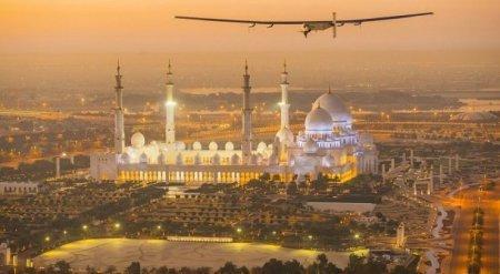 Самолет на солнечных батареях впервые отправился в кругосветный полет