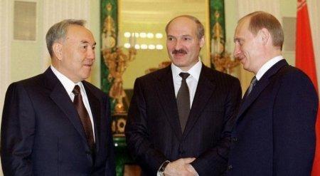 Трехсторонняя встреча Назарбаева, Путина и Лукашенко планируется в Астане