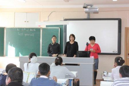Школьникам Актау рассказали о правильном питании