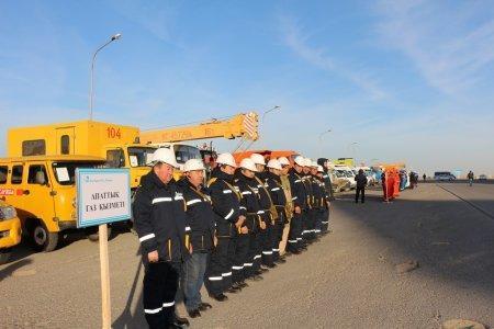 Командно-штабные учения стартовали в Актауском морском порту