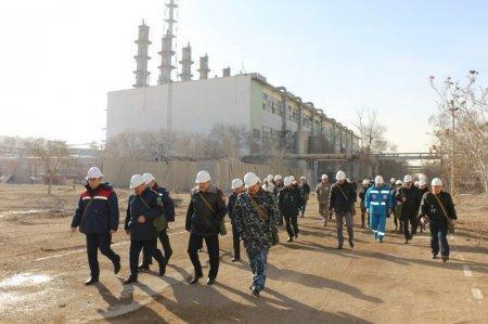 На актауском заводе «КазАзот» прошли учения по ликвидации последствий аварий на химически опасных объектах