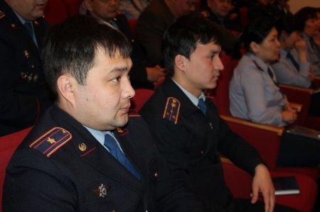 Члены Казахстанской и Всероссийской секций полицейской ассоциации провели встречу в Актау