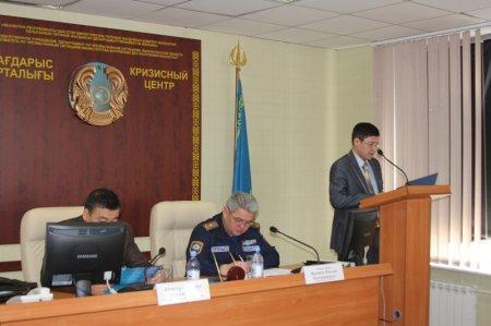 В Актау подвели итоги командно-штабных учений «Коктем-2015»
