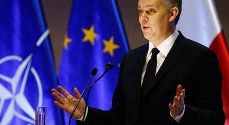 Министр обороны Польши принял лампочку за микрофон