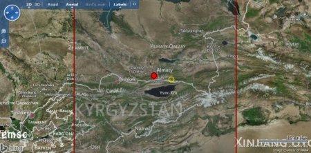 В Алматы ощущалось землетрясение силой 4-5 балла