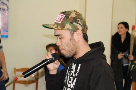 Рэп и хип-хоп звучали для воспитанников Мангистауской детской деревни