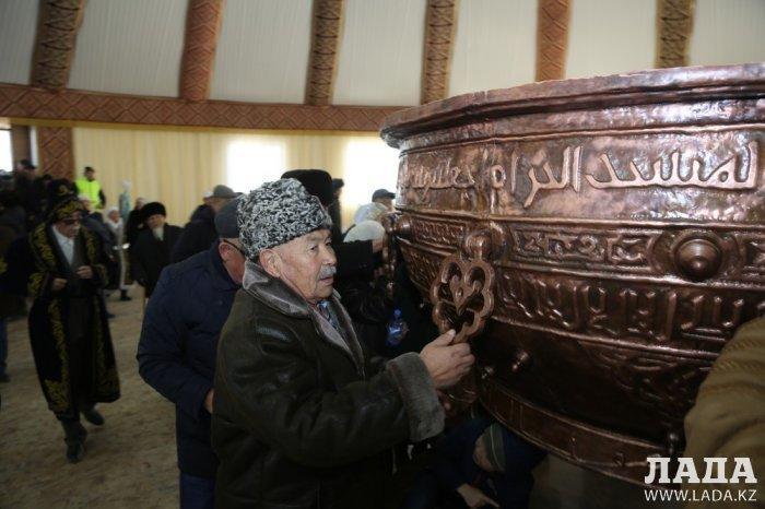На Отпан тау появился культурный комплекс «Қарашаңырак»