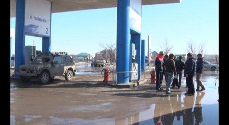 Около десятка автомобилей пострадали из-за некачественного бензина в Актобе