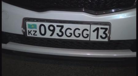 Фанат Геннадия Головкина разъезжал по Шымкенту с номерами GGG