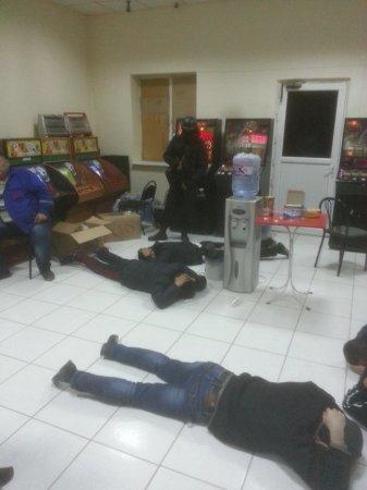 В Актау нашли подпольный зал игровых автоматов