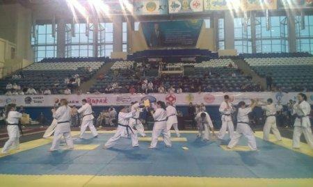 Актауские спортсмены завоевали две медали на чемпионате Казахстана по кекушинкай карате в Астане