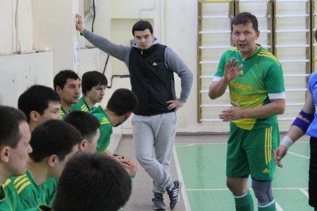 «Акжол-Курылыс» обеспечил себе досрочное чемпионство в Первой лиге чемпионата Мангистауской области по футзалу