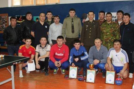 Максим Дорофеев стал победителем турнира по теннису среди мангистауских пожарных