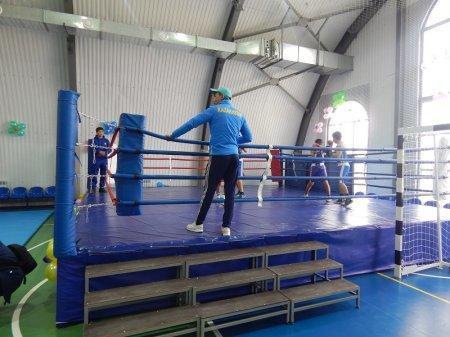 В поселке Баскудук открылся новый спортивный зал