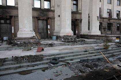 Дом профсоюзов в Одессе предложили переоборудовать в штаб ВМФ