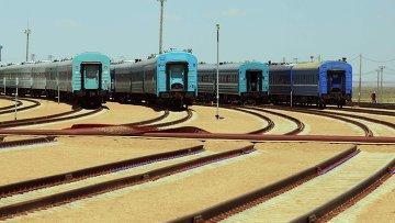 Казахстан ведет переговоры с КНР о строительстве ж/д дороги от границы до морпорта Актау