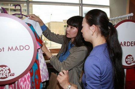 В Актау свои работы предлагают ведущие дизайнеры страны