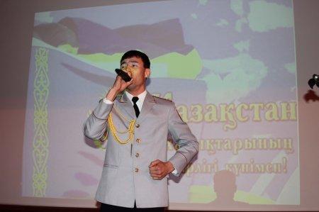 Большим концертом отметили День единства мангистауские полицейские