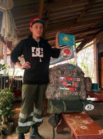 Казахстанец посетил более десятка стран без денег в кармане