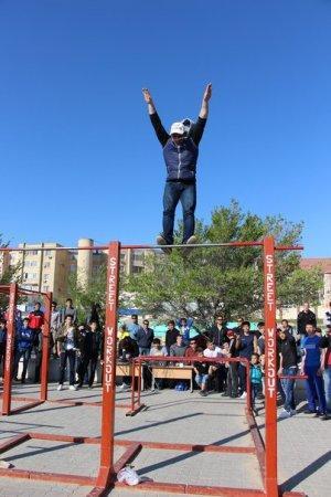 В Актау прошел турнир по street workout