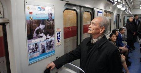 Плакаты расскажут пассажирам метро в Санкт-Петербурге о казахстанцах-героях ВОВ