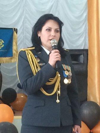 Военная полиция поздравила актауских ветеранов с праздником Победы