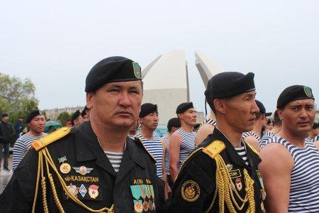 Военнослужащие актауского гарнизона посмотрели прямую трансляцию парада в Астане