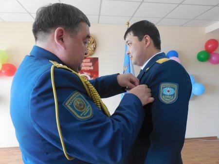 День защитника Отечества и День Победы отметили мангистауские спасатели