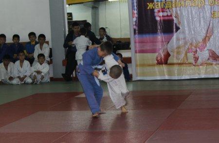 Спасатели Актау провели турнир по дзюдо среди воспитанников спортивных школ
