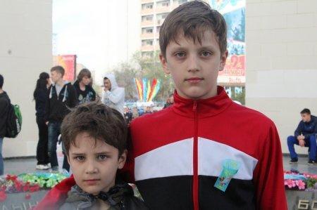 Жители Актау устроили забег ко Дню Победы