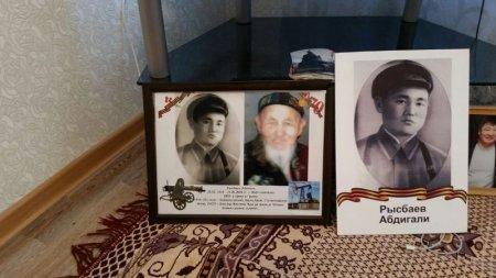 Мангистауские спасатели поздравили ветерана тыла с Великой Победой