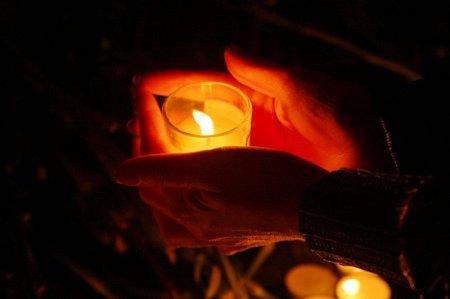 В Актау прошла народная акция «Свеча памяти»
