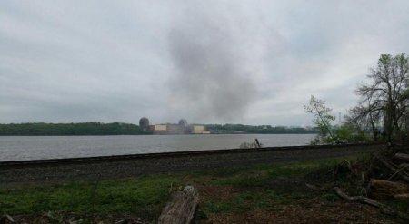 Один из реакторов АЭС близ Нью-Йорка аварийно остановлен
