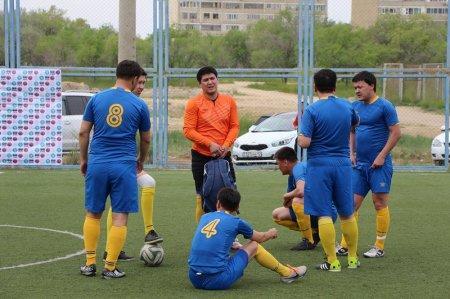 В Актау стартовал чемпионат Актау по мини-футболу 6х6