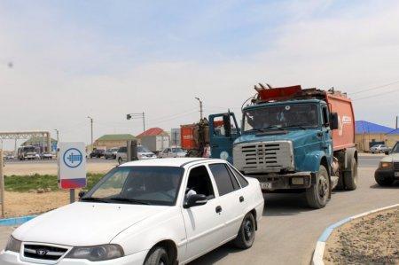 В Актау на заправках сети «Казмунайгаз» топливо продают по 27 тенге
